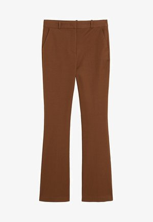 SAMANTHA - Trousers - cognac