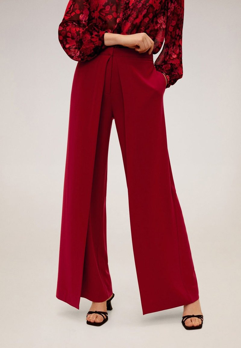 Mango - EIGHT - Trousers - red