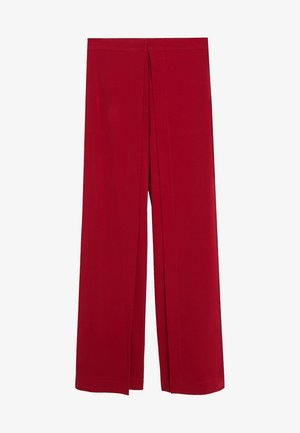 EIGHT - Trousers - red