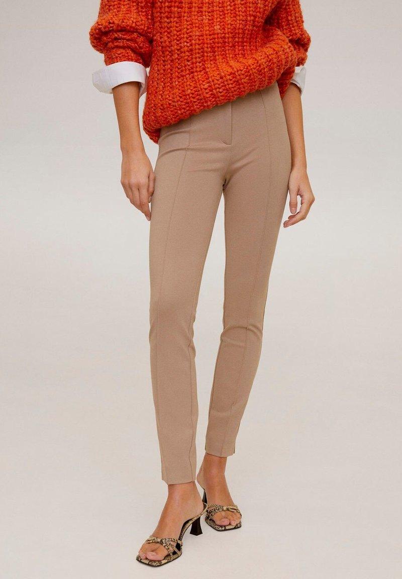 Mango - LIMA - Pantalon classique - light grey/pastel grey