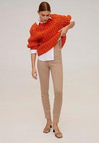 Mango - LIMA - Pantalon classique - light grey/pastel grey - 1
