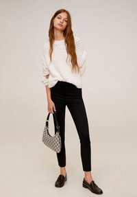 Mango - LIMA - Trousers - black - 1