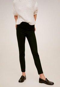 Mango - LIMA - Trousers - black - 0