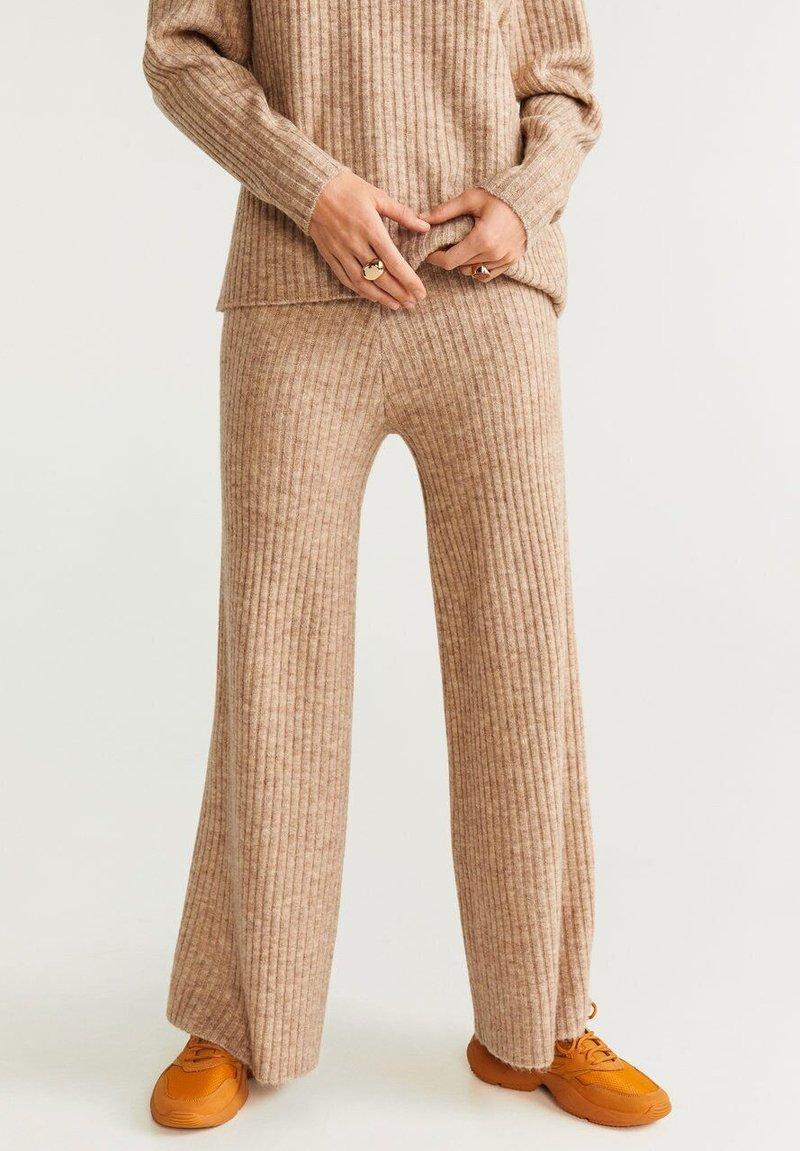 Mango - SOUL - Pantalon classique - medium brown