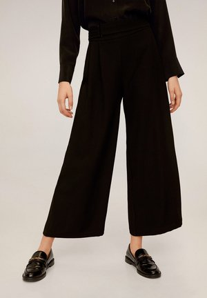 BOSS-A - Trousers - black