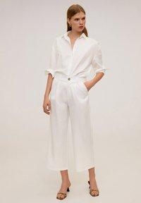 Mango - RENOIR-H - Pantalones - white - 1