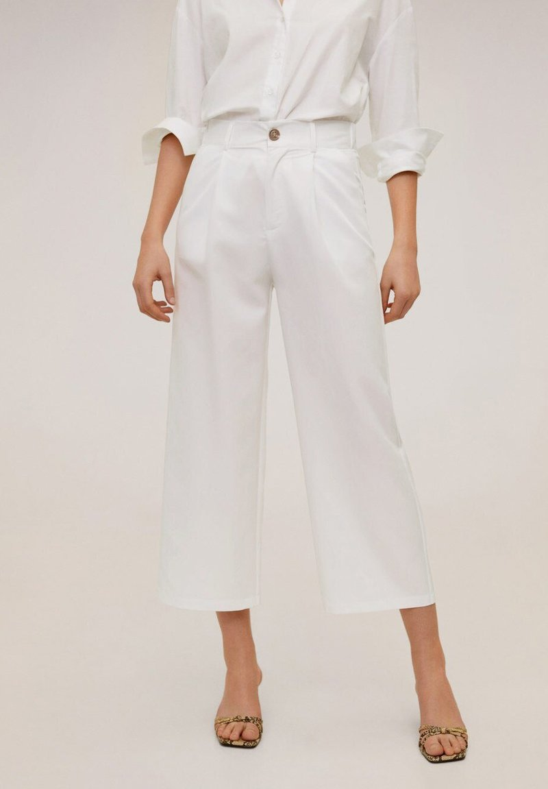 Mango - RENOIR-H - Pantalones - white