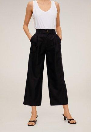 RENOIR-H - Spodnie materiałowe - black