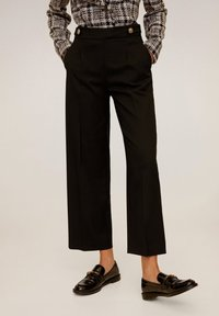 Mango - SIMO - Trousers - black - 0