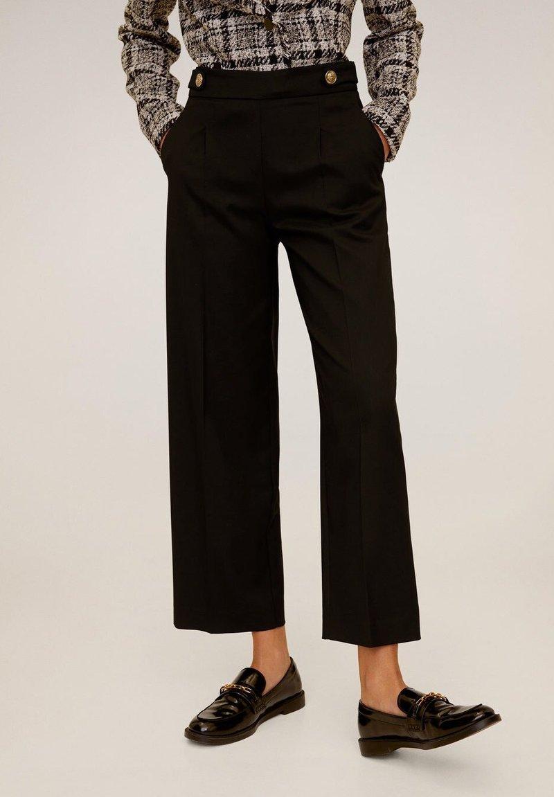 Mango - SIMO - Trousers - black