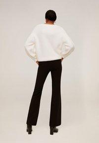 Mango - ELEPHANT - Trousers - black - 2