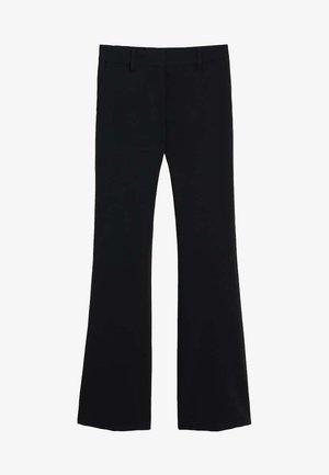 ELEPHANT - Trousers - black