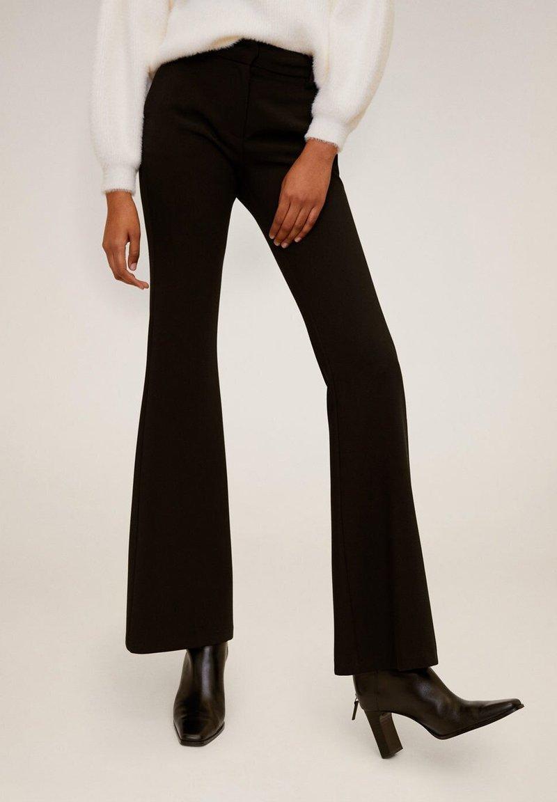 Mango - ELEPHANT - Trousers - black