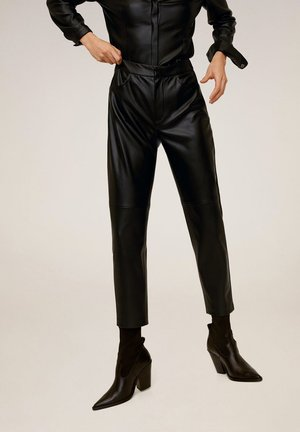 WANTED - Trousers - black