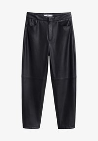 Mango - WANTED - Trousers - black - 3