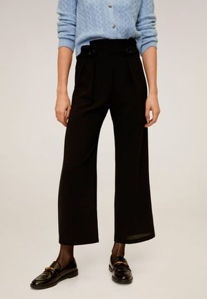GINH - Trousers - black