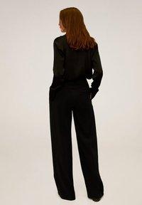 Mango - SIMOI - Spodnie materiałowe - black - 2