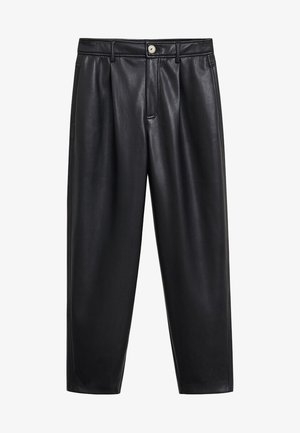 FAUSTO - Trousers - black