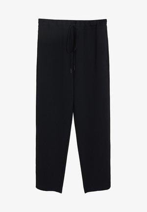 SEMIFLU - Pantalon classique - black