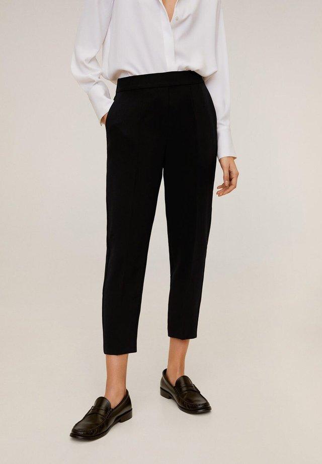LEO - Trousers - zwart