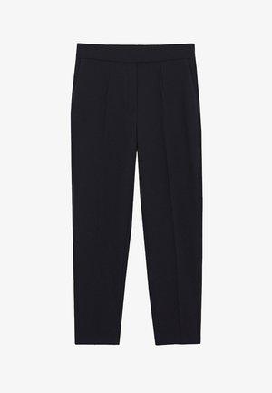 LEO - Spodnie materiałowe - zwart