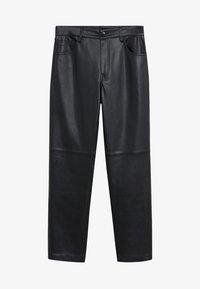 Mango - LILLE - Trousers - schwarz - 3