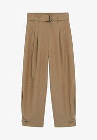 Mango - TOBACCO - Spodnie materiałowe - mittelbraun - 3