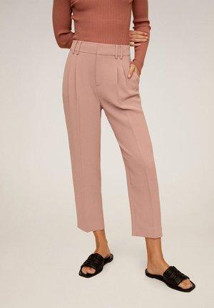 ELISA - Spodnie materiałowe - pink