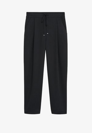 FLUIDO - Pantaloni - schwarz