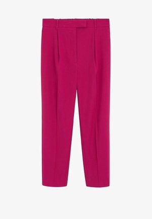MELCHOR - Spodnie materiałowe - fuchsia