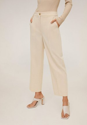 OFFICE - Trousers - open beige