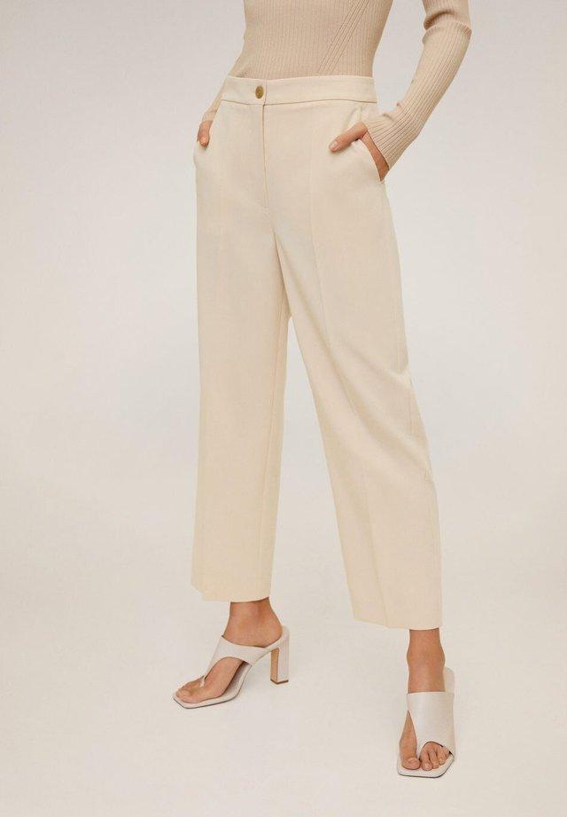 OFFICE - Spodnie materiałowe - open beige