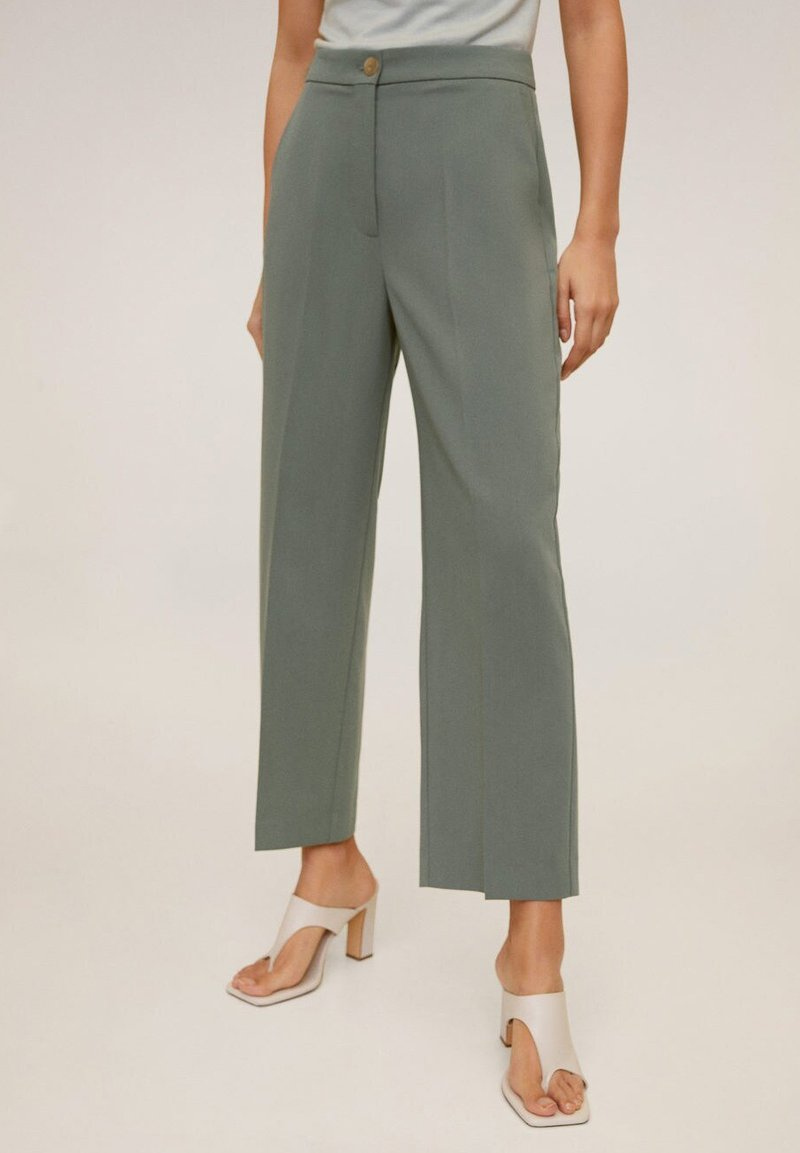 Mango - OFFICE - Pantaloni - grün