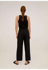 Mango - OFFICE - Trousers - schwarz - 2
