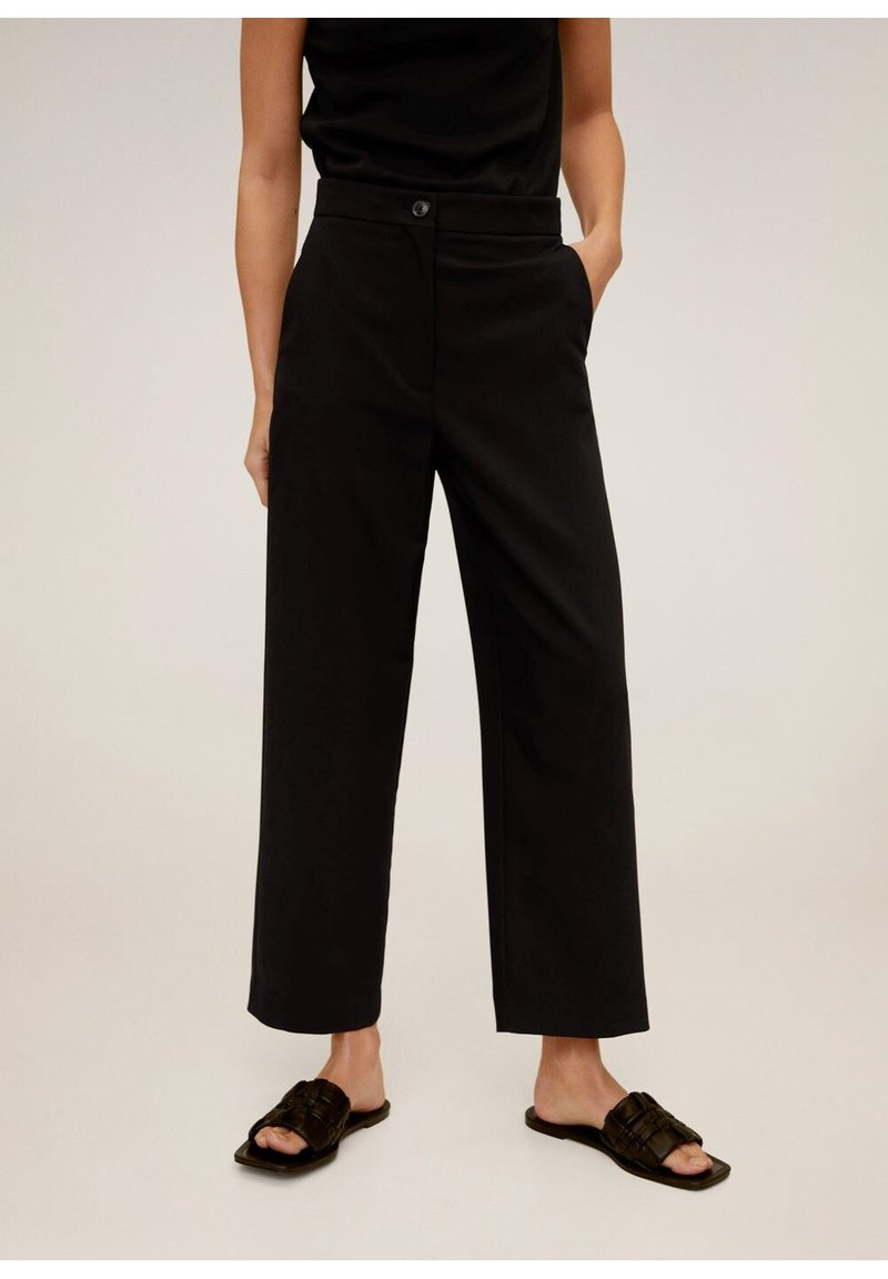 Mango - OFFICE - Trousers - schwarz