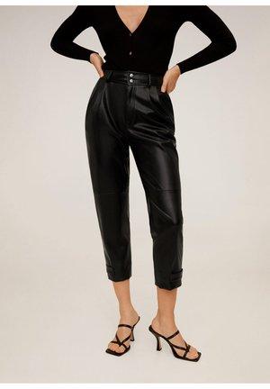 WILLY - Trousers - schwarz