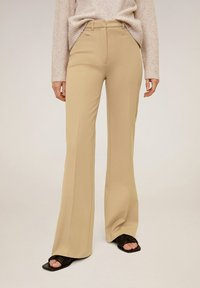 Mango - MIRANDA - Pantaloni - mittelbraun - 0