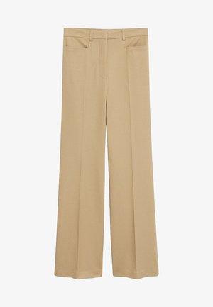 MIRANDA - Trousers - mittelbraun