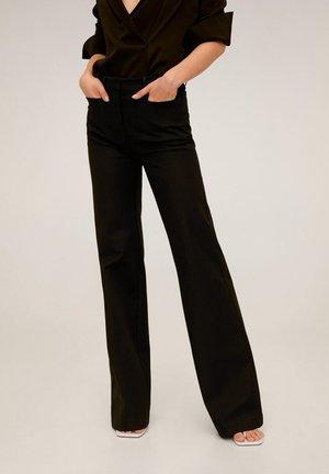 MIRANDA - Spodnie materiałowe - schwarz