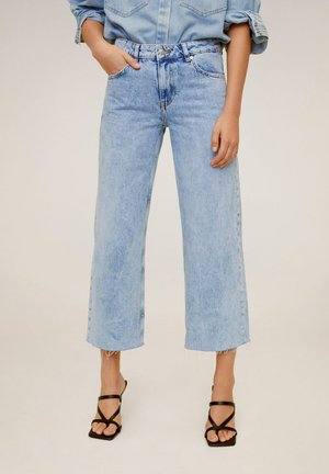 CULOTTE  - Relaxed fit jeans - middenblauw