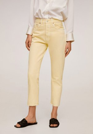 HAVANA - Jeans Straight Leg - pastellgelb