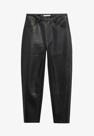 CROCO - Bukse - schwarz
