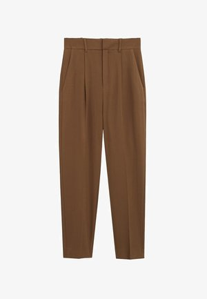 LEMON - Spodnie materiałowe - schokolade