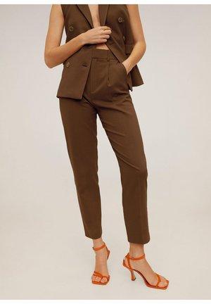 LEMON - Pantalon classique - schokolade