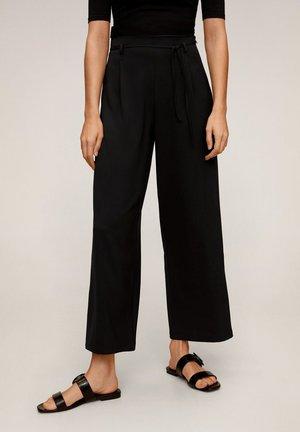 HACHI-A - Trousers - black