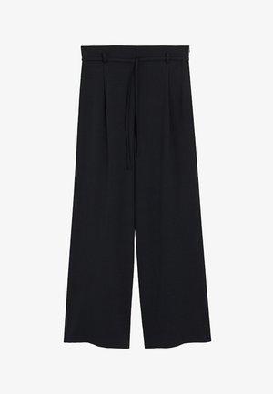 HACHI-A - Pantalones - black