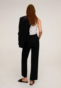 Mango - LAMU-I - Trousers - black - 2