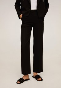 Mango - LAMU-I - Trousers - black - 0