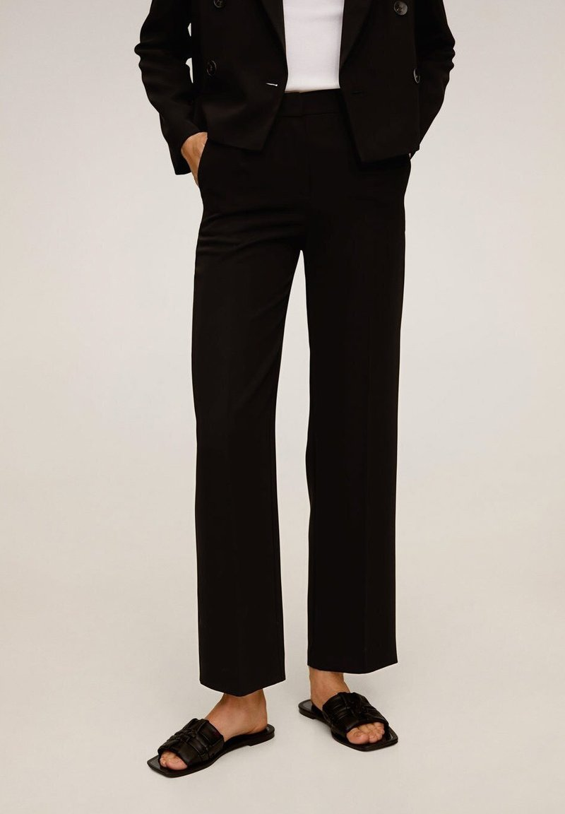 Mango - LAMU-I - Trousers - black