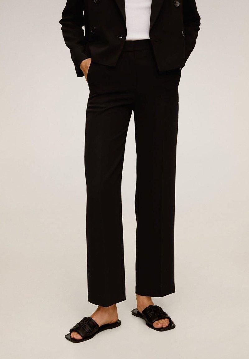 Mango - LAMU-I - Pantalones - black